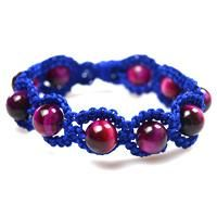In this tutorial, I will show you how to make a shamballa style bracelet, hope you like this blue shamballa bracelet.