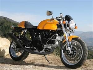 2007 Ducati Sport Classic. I parked my bike next to one of these last night. Instant love.