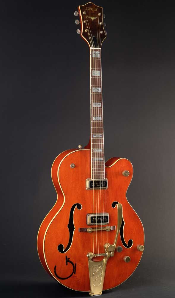 dating vintage gretsch guitars chet