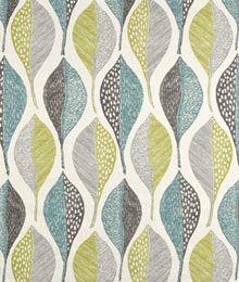 Robert Allen @ Home Woodblock Leaf Rain Fabric