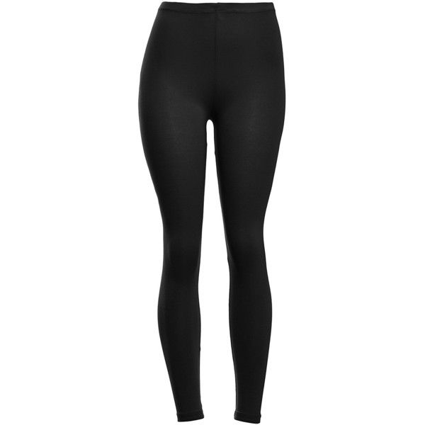 VIV Collection Women's Solid Cotton Leggings ($9.99) ❤ liked on Polyvore featuring pants, leggings, wide-waistband leggings, wide-leg trousers, cotton leggings, wide-leg pants and cotton pants