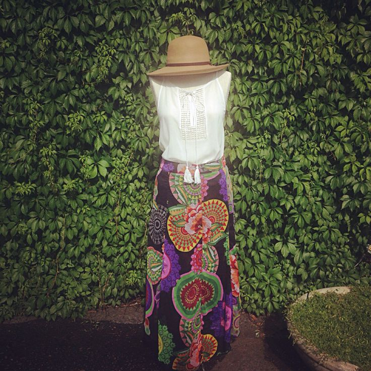 We love this look for summer. And the process are great to mix and match. #prana #mystree #desigual