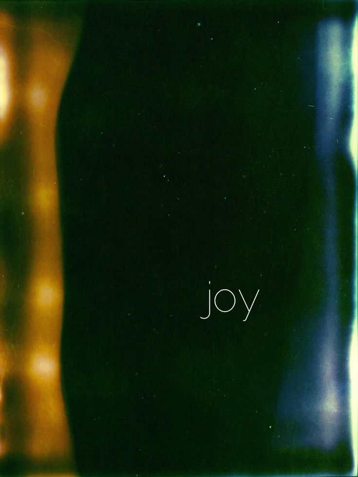 .joy { fruit of the spirit series }