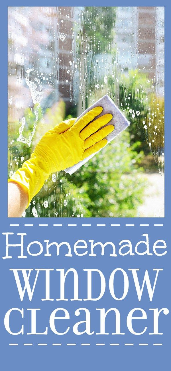 How To Make Your Own Homemade Window Cleaner Homemade
