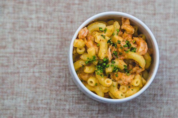 Cajun Mac & Cheese Toque Catering Company Victoria BC | D & J - Wedding Part One