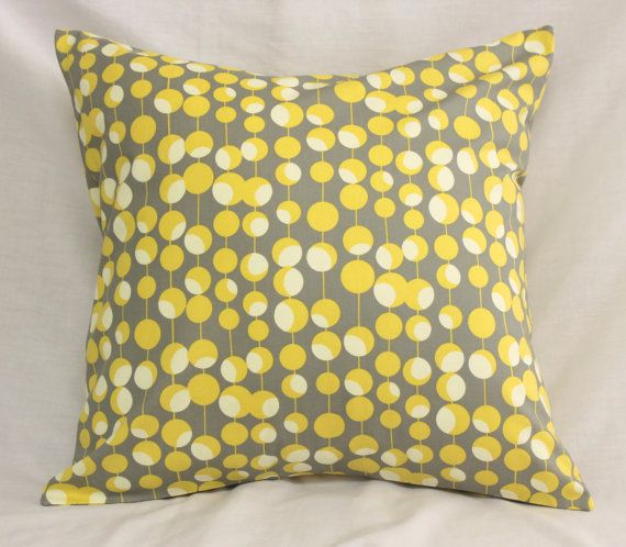Decorative Pillow Covers Dijon Mustard Yellow Amp Gray