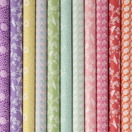 Dekorpapir i utvalgte farger fra Bungalow | Norway Designs