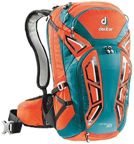 Deuter Attack 20 Pack Papaya / Petrol One Size -- Want to know more, click on the image.