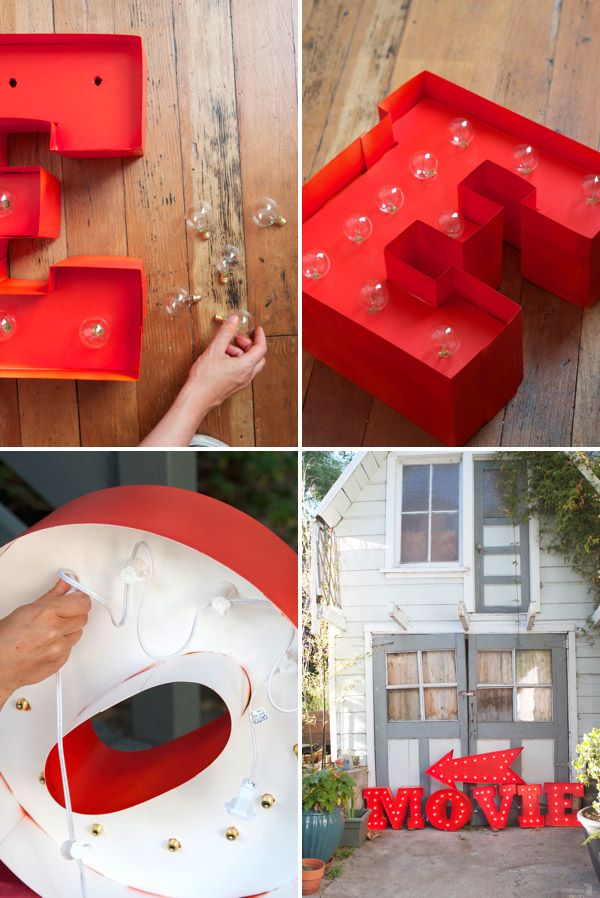 Tilt Things I Love Thursday Large Lighted Letters The Kid Pinterest Diy And Marquee