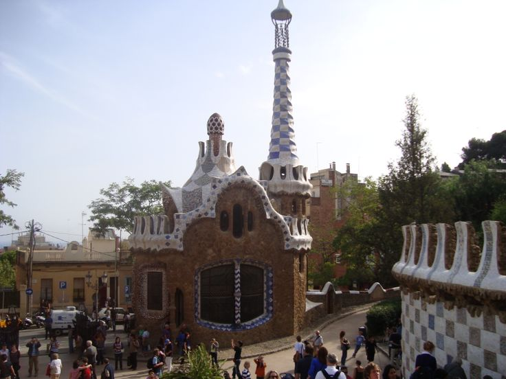 Parco Guell, Barcellona, Spain
