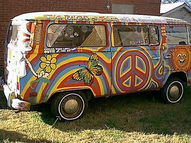 Hippy busses.