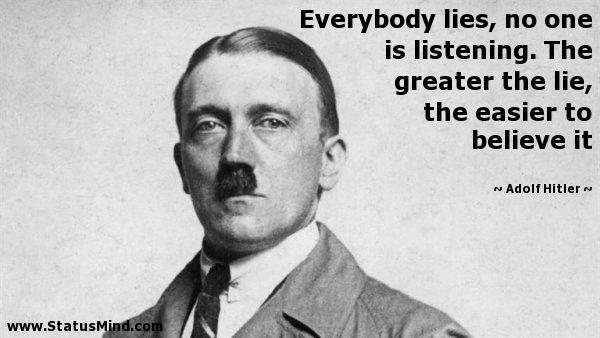 Adolf Hitler Quotes at StatusMind.com