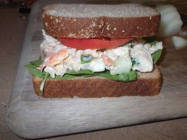 rChicken Salad recipe with lots of veggies and VegenaiseChicken Recipe, Vegenaise Salad, Vegenai Salad, Chicken Salads, Lot, Veggies, Rchicken Salad, Chicken Salad Recipes, Recipe Chicken