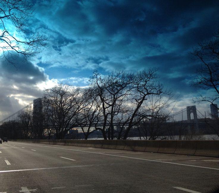 Ponte George Washington. New York.