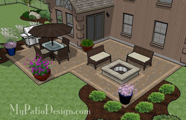 Patio Ideas on Pinterest Patio Backyards and