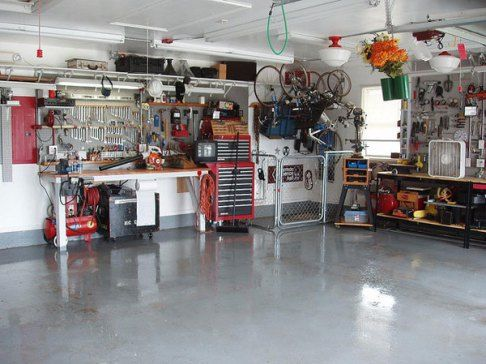 1000 Ideas About Home Workshop On Pinterest Garage