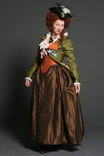 Stunning recreation of a 1780s jacket, bodice and gown. The attention to detail is superb! [Nordstjernan - 1700-tal]