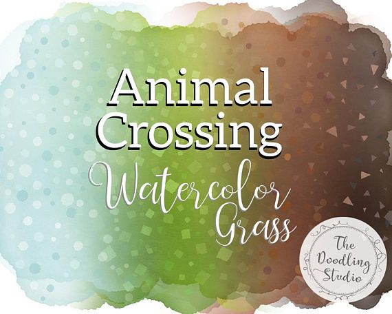 ❧ Animal Crossing Watercolor Grass Backgrounds - Grass, dirt and snow - 12 png, transparent textures (Digital Download) ❧ #acnl #acpc #pocketcamp #animalcrossing #acnlgrass #acnlbackgrounds #acnlsnow #clipart #digitaldownload #designresources #instabackground