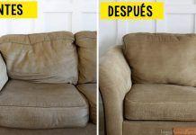¿Tu sofá está viejo y desgastado? Prueba a hacer esto para que quede como nuevo