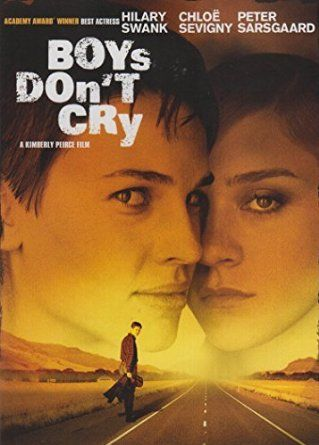 Boys Don't Cry is a 1999 American independent romantic drama film directed by Kimberly Peirce and co-written by Peirce and Andy Bienen. The film is a dramatization of the real-life story of Brandon Teena, an American trans man played in the film by Hilary Swank, who is beaten, raped and murdered by his male acquaintances after they discover he is transgender.