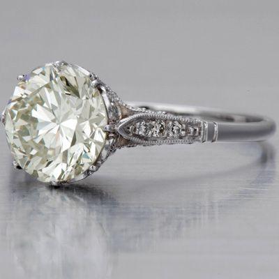 Edwardian Engagement Ring, 2.19 caratsVintage Engagement Rings, Edwardian Engagement Rings, Diamonds Rings, Vintage Rings, Wedding Rings, Dreams Rings, Vintage Inspiration, Antiques Rings, Vintage Style