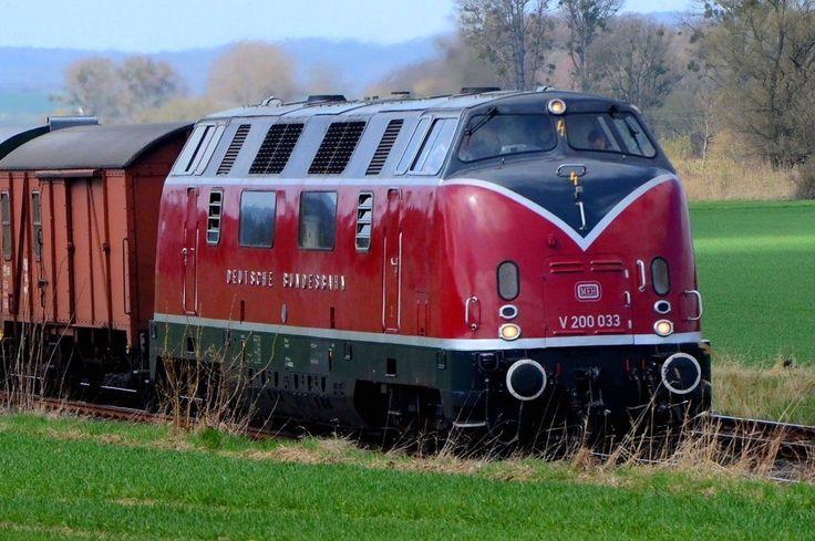 DB class V 200 diesel-hydraulic Locomotive
