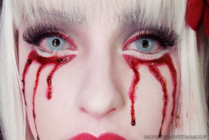 32 best images about special effects halloween makeup on pinterest born this way doll makeup. Black Bedroom Furniture Sets. Home Design Ideas