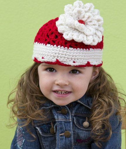 Big Bloom Hat Free crochet pattern: