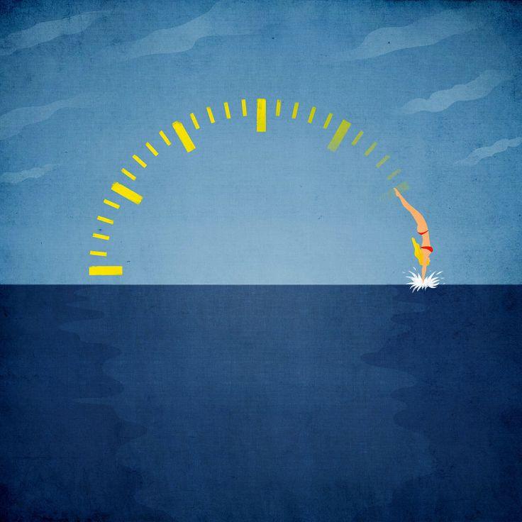 Daylight saving © Benedetto Cristofani, all right reserved  #illustration #editorial #summer #editorialillustration #conceptual #conceptualillustration www.benedettocristofani.net
