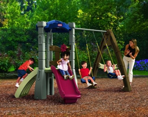 Small Swing Sets: Big Fun for Little Yards | Outdoor Toys for Kids