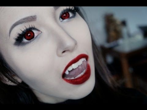 52 best Vampire Makeup Ideas images on Pinterest | Halloween ideas ...