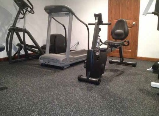 Awesome Home Gym Rubber Floors