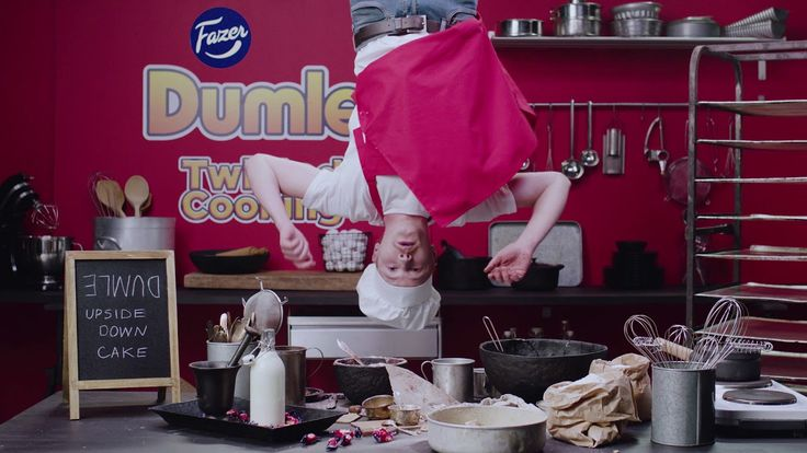 Dumle Twisted Cooking Chocolate Nutcake video - Fazer