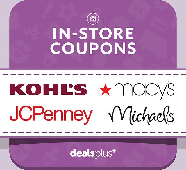 Best In-Store Coupons & Mall Discounts for the Weekend Coupons (dealsplus.com)