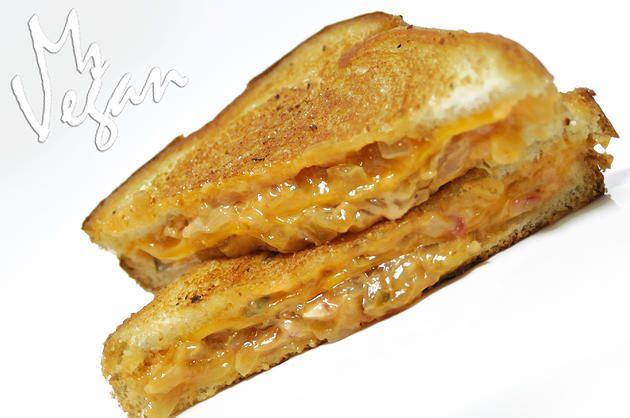 Animal Style Grilled Cheese, Please @followyrheart #animalstyle #vegan ...