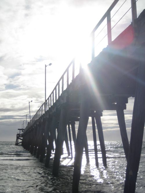 Adelaide's beaches • jetty on the beach