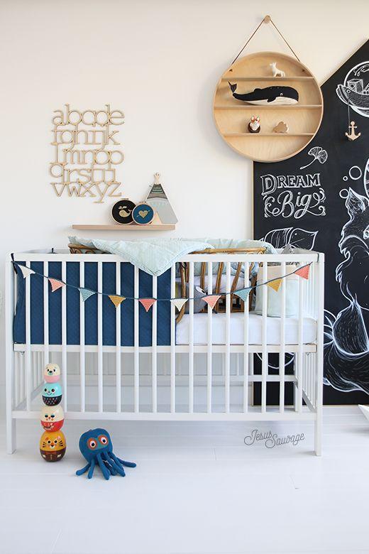 Petite visite guidée de la chambre de Marin! Imaginée avec amour pour notre petit chat, un bonheur de repenser une chambre d'enfant !