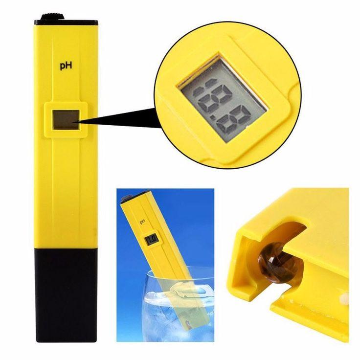 Hogar Digital Portátil LCD Medidor de PH Agua Líquida Prueba Pluma Acuario Piscina Pecera herramientas