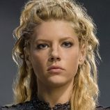 Vikings.  Lagertha is the wife of Ragnar Lothbrok. She is a strong shield-maiden and a force to be reckoned with. She fights in the shield-wall beside her husband and her Viking brothers. She is independent and strong-willed both in protecting her family and accompanying Ragnar on some of his dangerous and daring raids.  Played by Katheryn Winnick