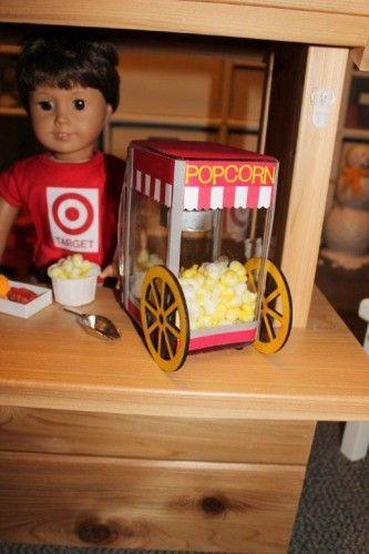 doll sized popcorn machine