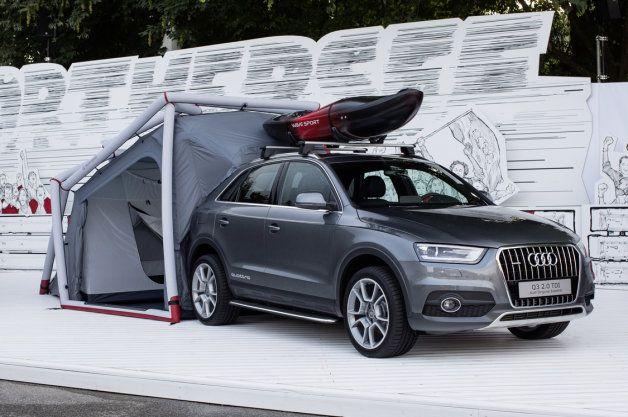 Audi Q3 Camping Tent is der neue Aztek