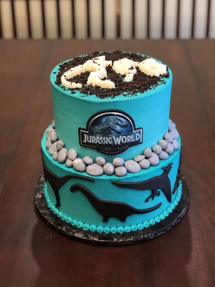 Jurassic world cake jurassic world cake dinosaur