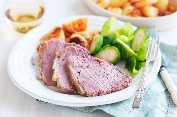 Taste member, fraser06's slow cooker corned beef is a deliciously easy dinner recipe. Save some of the meat for sandwiches the next day too.