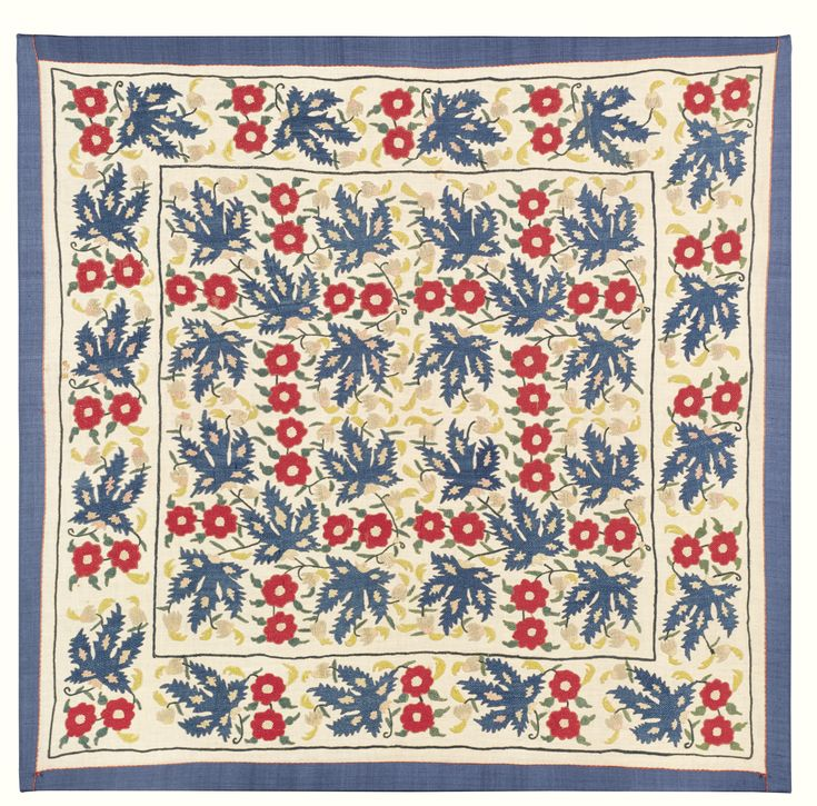 A embroidered Bohça or turban cover, Ottoman