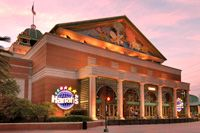 Harrah's in New Orleans offers gaming opportunities plus all the excitement and attractions of a great Southern city.