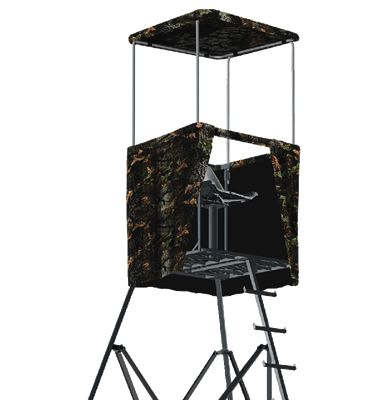 Big Dog Tree Stand Tripod Blind Camo For BDT300