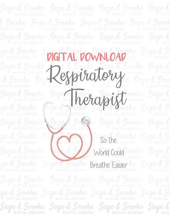 Respiratory Therapist Download, RRT Sublimation, Digital