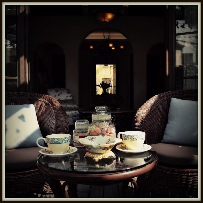 Coffee Break at Le Camélia