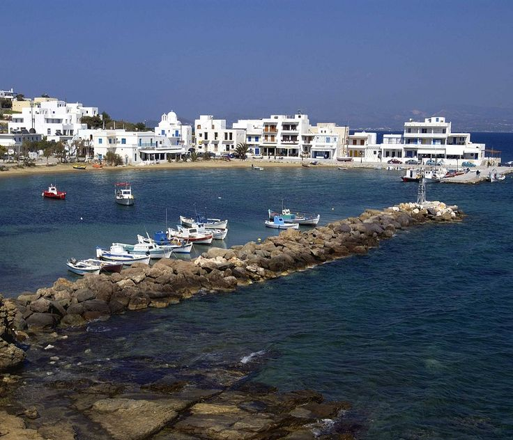 Piso Livadi village is located at the east part of #Paros island. If you visit it, don't miss the seafood!