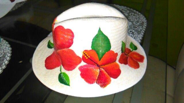 Sombrero pintado cayena
